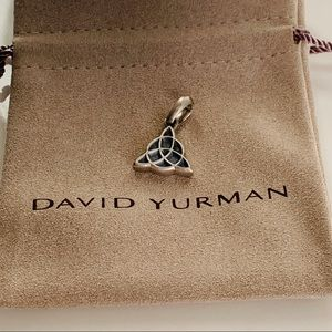 David Yurman Celtic Knot Amulet Pendant Men Silver